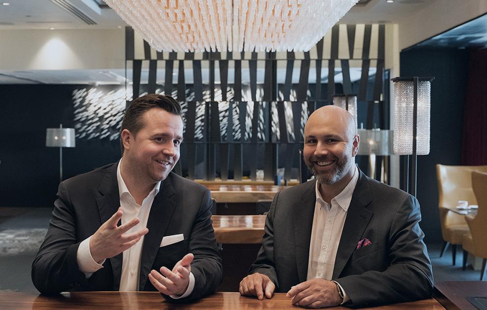 Fintech News Interview Stefan Jans & Lucas Landolt